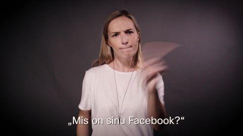 Marta Laan õpetab, kuidas saada kontakti ka sotsiaalmeedias.