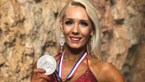 Jana Teder, Maailma meistrivõistluste hõbe bikiinifitnessis.