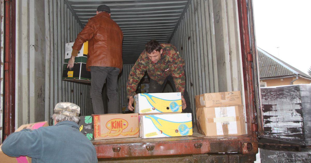 Otepäält saadeti Ukrainasse riideabi