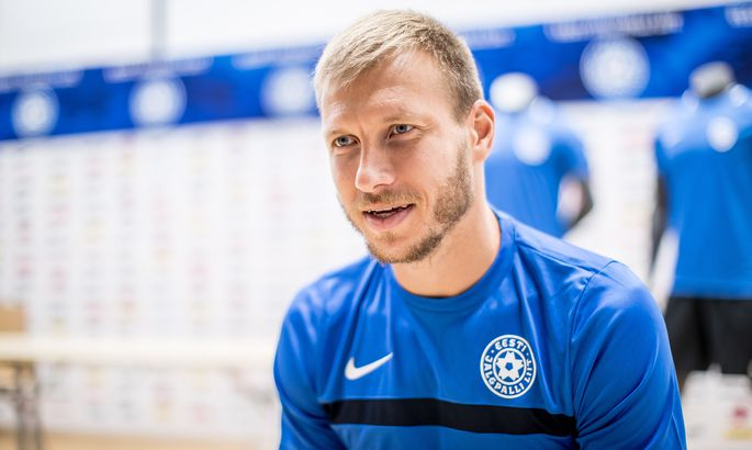 d2f8f74a2fd Ragnar Klavan. FOTO: Sander Ilvest / Postimees. Eesti jalgpallikoondise  kapteni ...