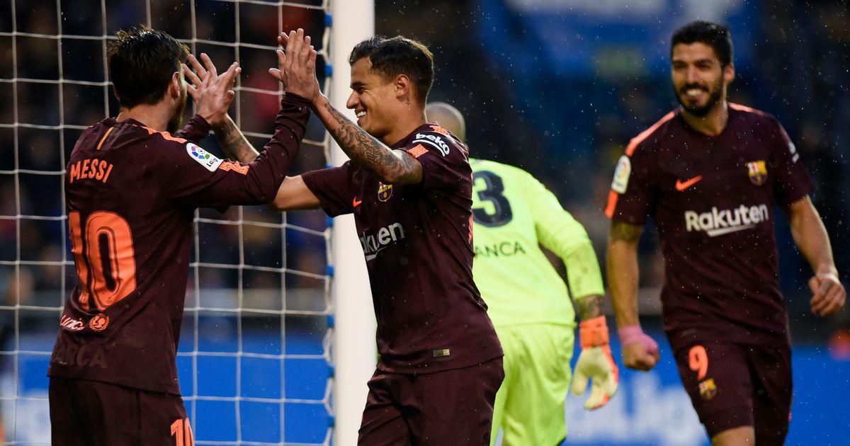 439a3b290ef Messi kaabutrikk kindlustas Barcelonale meistritiitli - Hispaania liiga -  Laliga - Postimees Sport: Värsked spordiuudised Eestist ja välismaalt