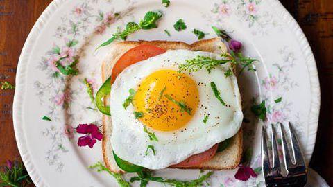 Heaks hommikuseks valguallikaks on muna.