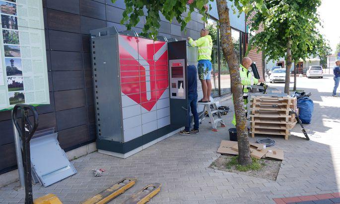 fa95796ea77 Tõrvasse paigaldati uus pakiautomaat - Tõrva - Lõuna-Eesti Postimees