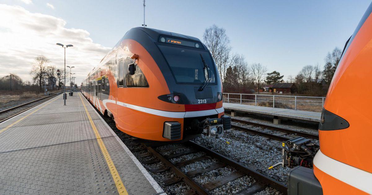 Raudteeremont ja talveajale üleminek toovad muudatusi rongide sõiduplaani