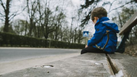 Laste stressi sümptomid jäävad sageli märkamata.
