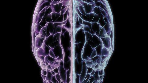 Uuring näitas, et mahasurutud mõte olid katseisiku peas tegelikult olemas, kuigi inimene seda ei teadvustanud. Ajuaktiivsuse analüüs näitas, et kujutluspilt tekkis katseisikutel vasakus ajupoolkeras ning parem ajupoolkera tegeles selle mahasurumisega. Illustratiivsel pildil aju 3D vaates.