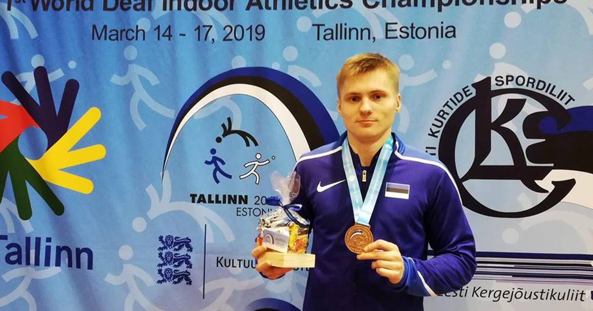 Valgalane võitis maailmameistrivõistlustel Eesti rekordiga pronksmedali