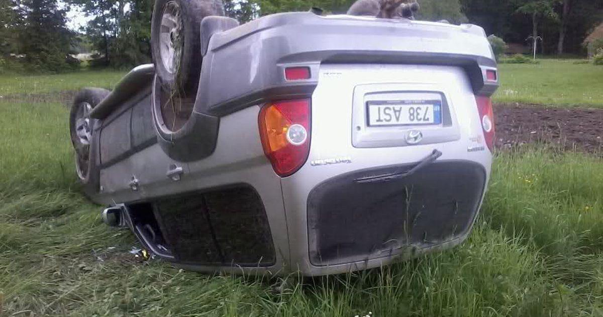 Kati Saara Vatmann paiskas koos purjus sulasega auto pea peale