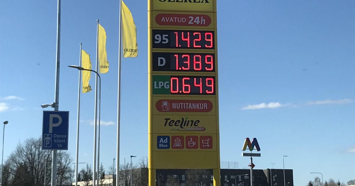 Autojuht: vajusin raske ohkega juhiistmesse kui tänaseid kütusehindu nägin
