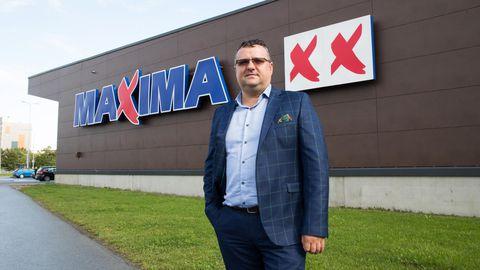 Maxima Eesti juht Edvinas Volkas.
