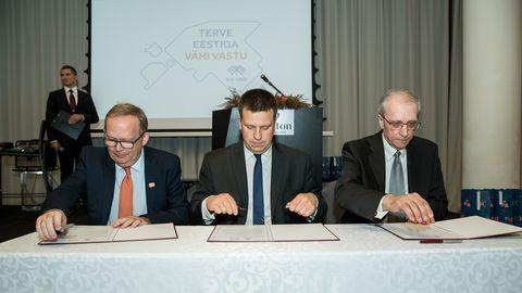 Maailma Vähideklaratsiooni allkirjastamine ja pidulik heategevuskontsert.