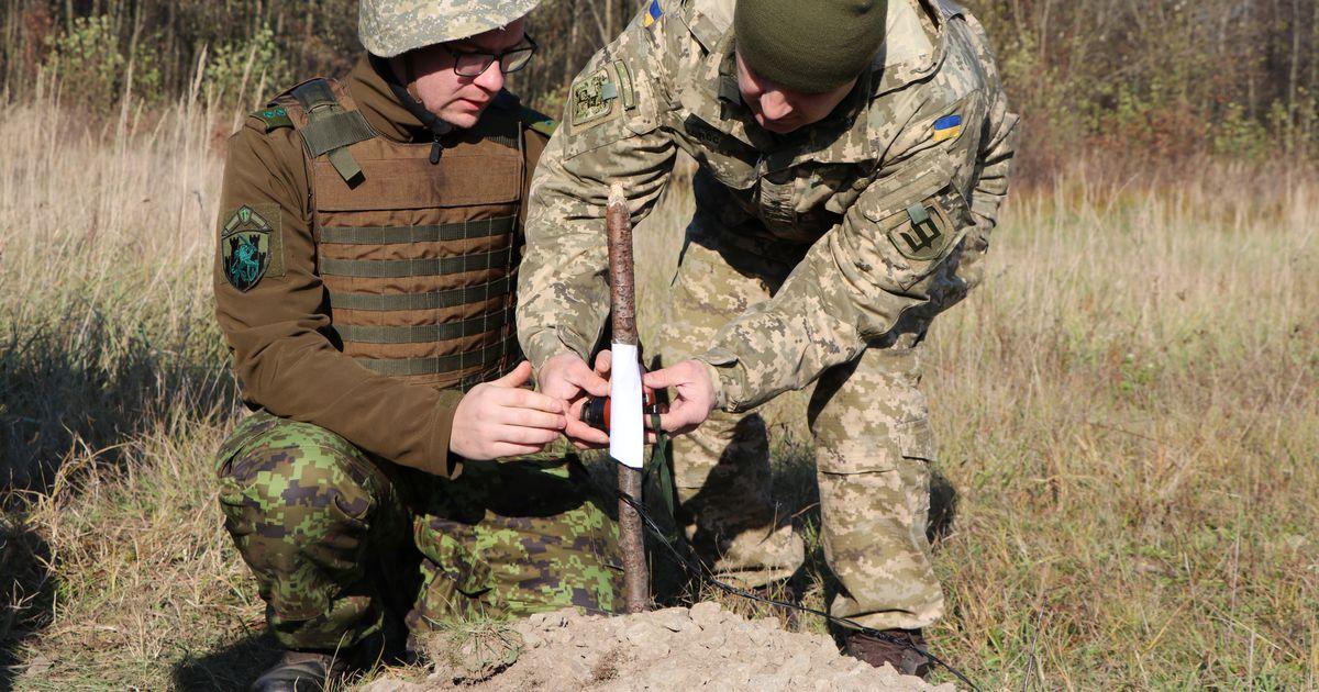 Fotod: Eesti pioneerid õppisid Ukraina kolleegidelt omavalmistatud pommide likvideerimist