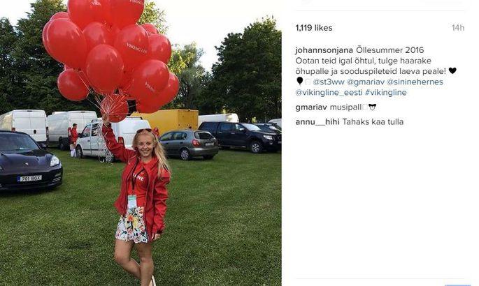 e7925970f55 Vaata ja imesta! Staarisaate Jana Liisa jagab õllefestivalil ...