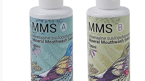 MMSi mineraalne suuloputusvahend.
