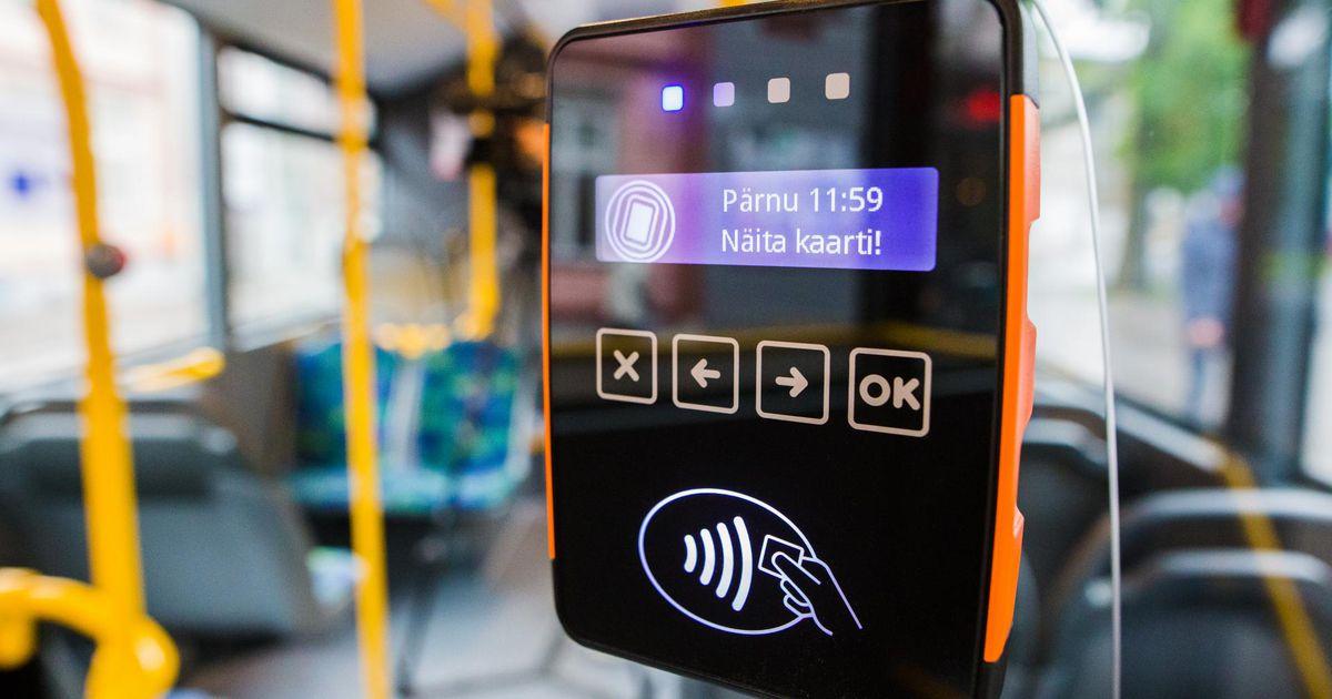 Tänasest saab ühissõidukis valideerida telefoniga
