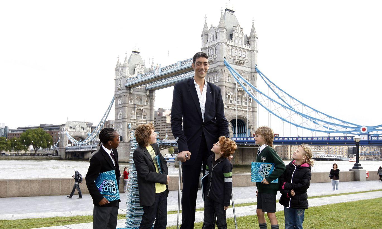 Самый высокий человек в россии фото