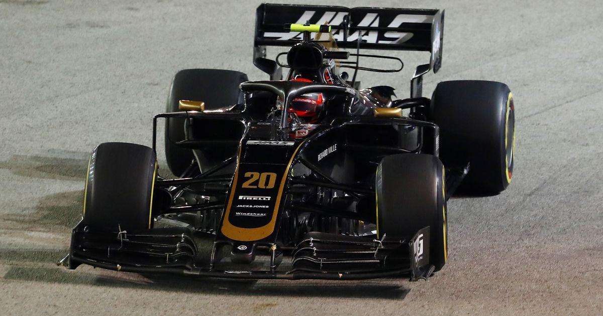 Haasi pealik pärast Singapuri F1 etappi: kilekott rikkus Magnusseni sõidu!